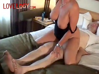 mature and her tied husband, aged amateur