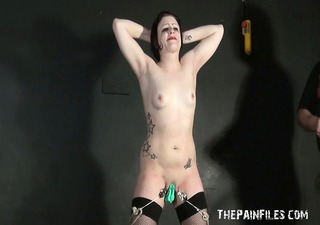 enslaved d like to fuck isabel pussy tortured in