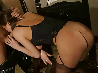 hawt french aged anal