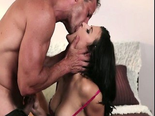 breasty aged gets rimming and fucking