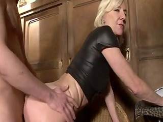 blonde mature charlie fucked right into an rectal