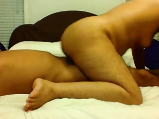 indian older couple homemade