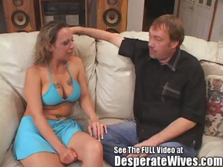 slut wife donna eating two hot cum loads like a