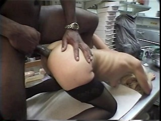 perfect blonde in underware gets her asshole