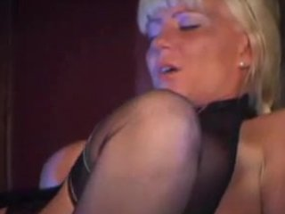 hot blonde d like to fuck in nylons fucks and