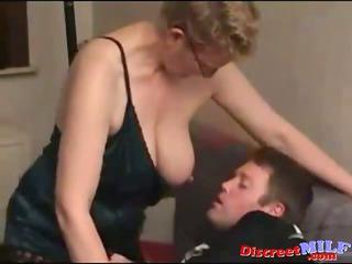 dilettante milf fucked by juvenile chubby man