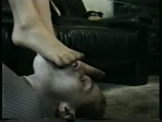 wifes perspired nyloned feet licked clean by the