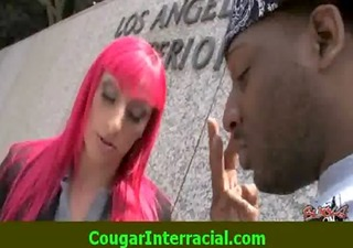 interracial sex - sexy cougar mother i acquires