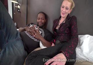petite mommy creams all over bbc
