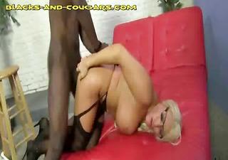 interracial anal and facial