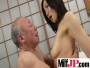 hot oriental milfs acquire hard fucked on tape