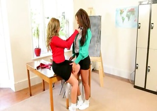 ultra busty teacher lezz sweethearts teasin