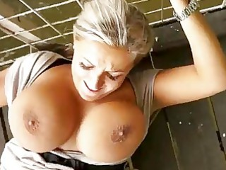breasty mother i drilled in public for cash