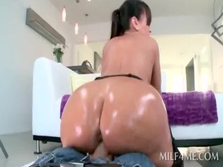 pov dirty mama sucking hard large jock with