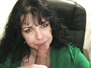 mature receives cumload in a-hole