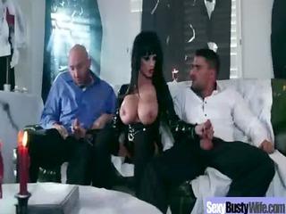 whore horny mama with big juggs get hard banged