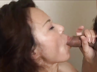 japanese hairy older gets creampied (uncensored)