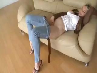 blonde playgirl margo russo is a busty mother i
