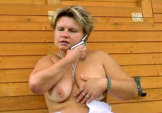 blond loves licking a dick