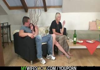 drunk oldie seduces me into sex