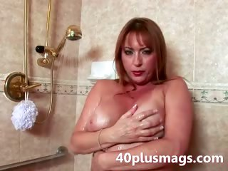 teasing older shower scene