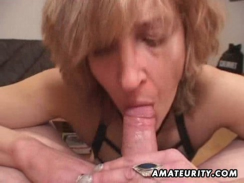 aged dilettante wife gives head with cum in mouth