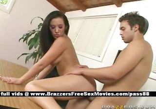 fucking the breasty boss