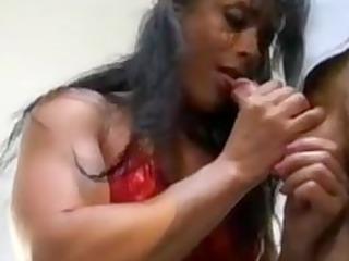 bodybuilding older woman anal