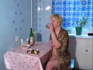 drunk mature mama drilled by youthful son
