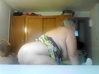 breasty aged gf copulates cowgirl style
