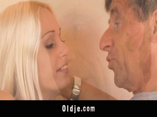 old braggart manages to fuck youthful erica
