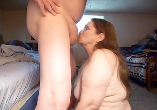 suckin for sperm and cum and swallowing ! over