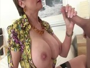 older stocking brit suck and fuck action