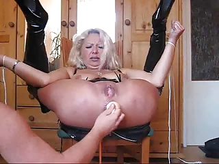 old milf actually hard bondage