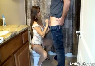 mommy pissed after she is jerk his son. tugjob