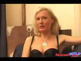 elderly french mother drilled by dongs