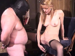 naughty blonde milf dominatrix way-out femdom
