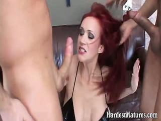 raunchy mature in hardcore 11way