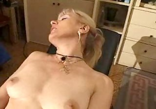 french shaved blond granny pt2