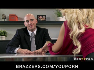 cheating big tit blonde wife fucks salesmans