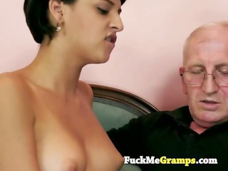 the old stud can teach her