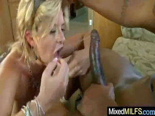 busty sexy milf ride biggest darksome mamba penis