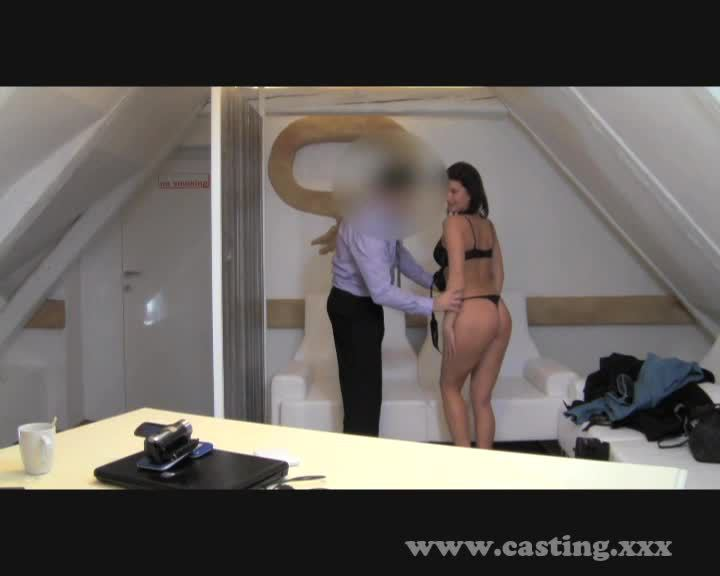 casting - older hottie controls the auditions