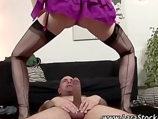 wicked european stockings wench gets screwed