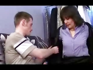 german mother and guy