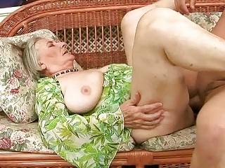 very old granny receives screwed hard