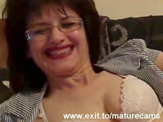 05 years granny joyce on home webcam