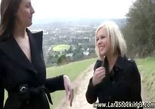 stockinged mature lesbians