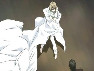 manga twink having a love pont of time wih his man