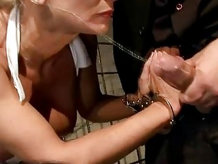 hot milf getting bondage hard